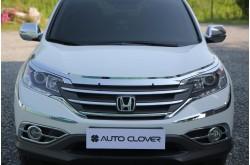 Молдинги передних фар Honda CRV