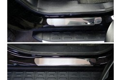 Накладки на пороги Hyundai Grand Santa Fe