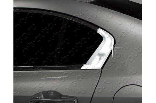 Накладки рамки стекла Honda Civic 9