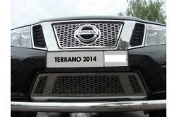 Решетка радиатора Nissan Terrano 3 верхняя