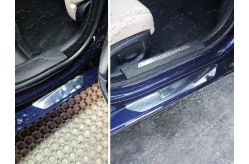 Накладки на пороги Jaguar XE