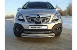 Решетка радиатора Opel Mokka нижняя 12мм