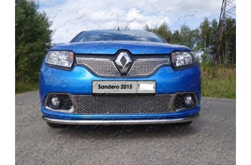 Решетка радиатора Renault Sandero 2 нижняя