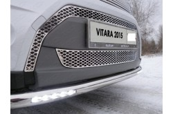 Решетка радиатора Suzuki Vitara 2 средняя