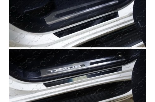 Накладки на пороги Lexus LX450D