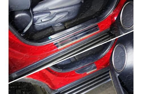 Накладки на пороги Lexus NX