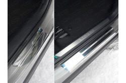 Накладки на пороги Lexus NX300H
