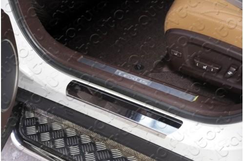 Накладки на пороги Lexus RX200T