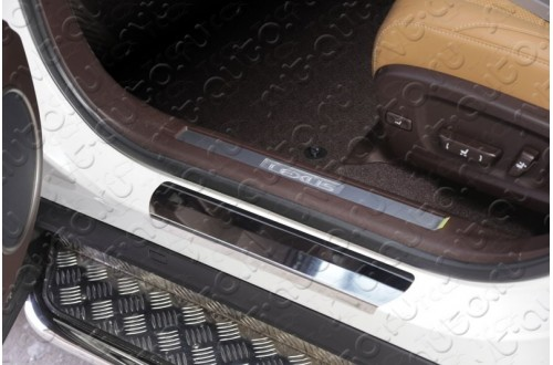 Накладки на пороги Lexus RX200T F-Sport