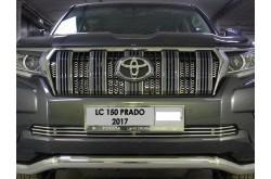 Решетка радиатора Toyota Land Cruiser Prado 150 рестайлинг 2 внутренняя