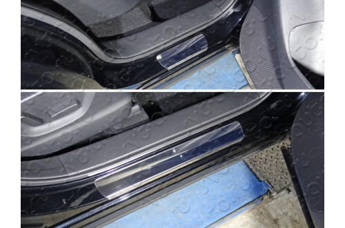 Накладки на пороги Mazda CX-5 рестайлинг