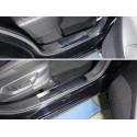 Накладки на пластиковые пороги Mazda CX-5