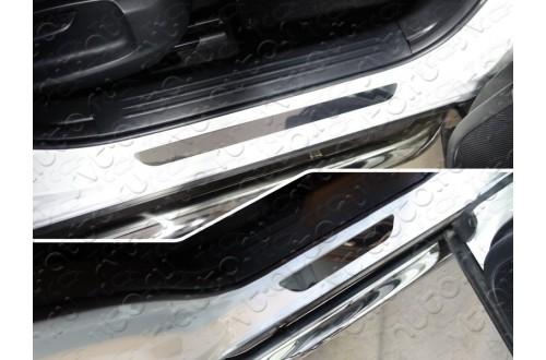 Накладки на пороги Mazda CX-5 2017