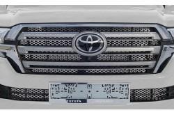 Решетка радиатора Toyota Land Cruiser 200 рестайлинг 2 внутренняя низ