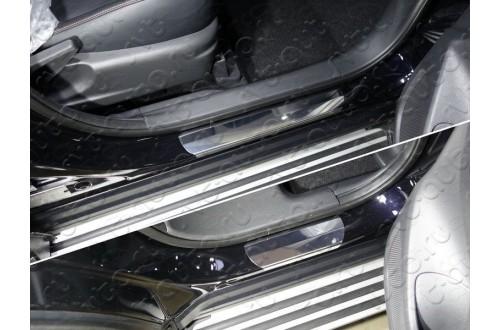 Накладки на пороги Mitsubishi Eclipse Cross