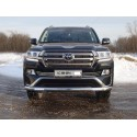 Решетка радиатора Toyota Land Cruiser 200 Executive 16мм низ