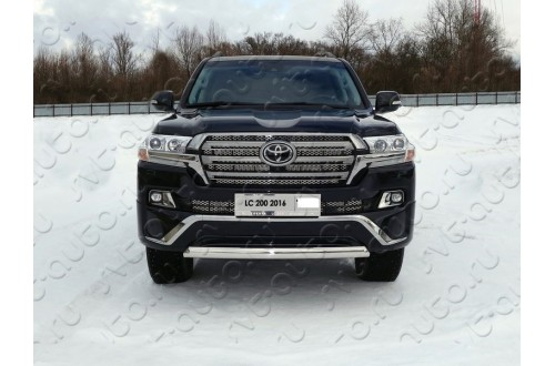 Решетка радиатора Toyota Land Cruiser 200 Executive нижняя