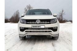 Решетка радиатора Volkswagen Amarok рестайлинг верхняя