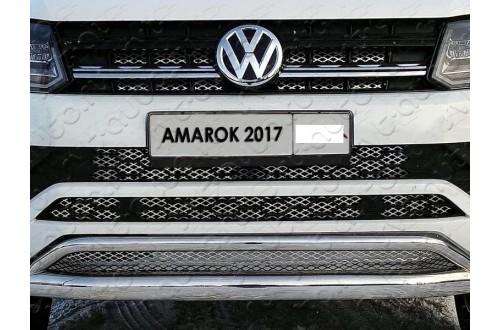 Решетка радиатора Volkswagen Amarok рестайлинг нижняя