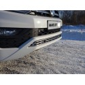 Решетка радиатора Volkswagen Amarok рестайлинг нижняя 12мм