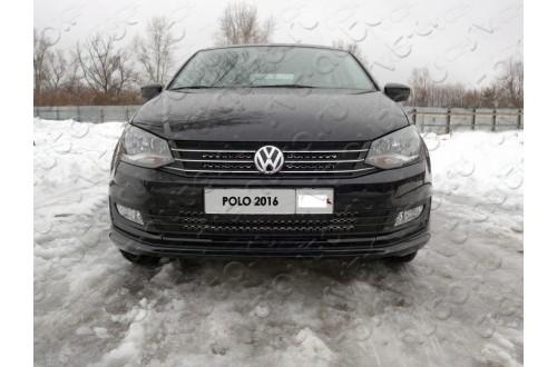 Решетка радиатора Volkswagen Polo 5 рестайлинг нижняя