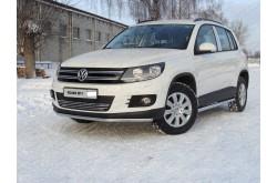 Решетка радиатора Volkswagen Tiguan рестайлинг 12мм