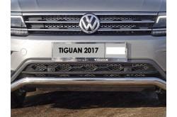 Решетка радиатора Volkswagen Tiguan 2 нижняя