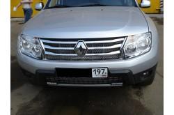 Защитная сетка радиатора Renault Duster с установкой