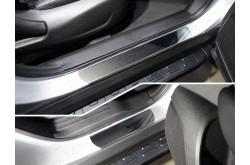 Накладки на пороги Renault Koleos 2
