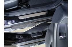 Накладки на пороги Subaru XV 2