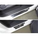Накладки на пороги Volkswagen Amarok