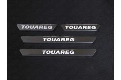 Накладки на пороги Volkswagen Touareg R-Line