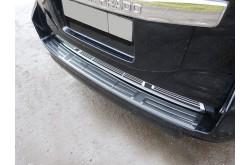 Накладка на задний бампер Toyota Land Cruiser Prado 2017