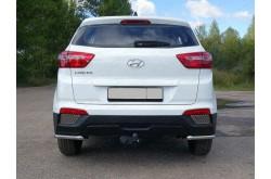 Решетка заднего бампера Hyundai Creta