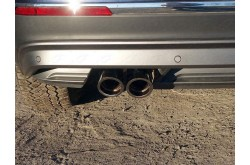 Насадки на глушитель премиум Volkswagen Tiguan