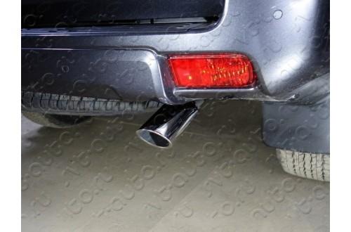 Насадка на глушитель премиум Toyota Land Cruiser Prado