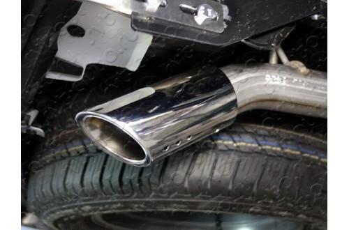 Насадка на глушитель премиум Toyota Fortuner