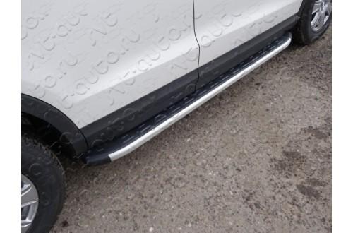 Пороги алюминиевые Audi Q3