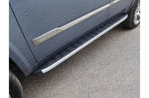 Пороги алюминиевые Cadillac Escalade 4