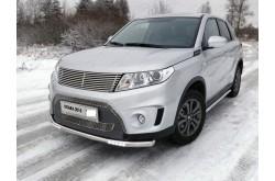 Защита переднего бампера с ДХО Suzuki Vitara 2