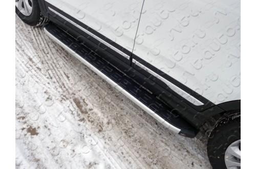 Пороги алюминиевые Chery Tiggo 5