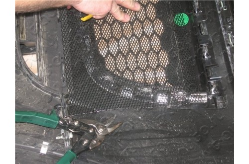 Защитная сетка радиатора Mazda CX-7