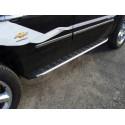 Пороги алюминиевые Chevrolet TrailBlazer