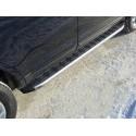 Пороги алюминиевые Ford Edge