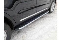 Пороги алюминиевые Ford Explorer 2017