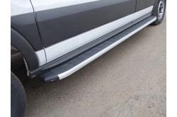 Порог алюминиевый левый Ford Tranzit 2013