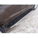 Пороги алюминиевые Geely Emgrand X7