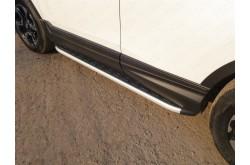 Пороги алюминиевые Honda CR-V 5