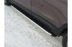 Пороги алюминиевые Hyundai Grand Santa Fe