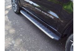 Пороги алюминиевые Jeep Grand Cherokee 2017